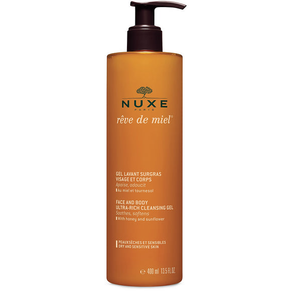 Nuxe Face and Body Ultra-Rich Cleansing Gel