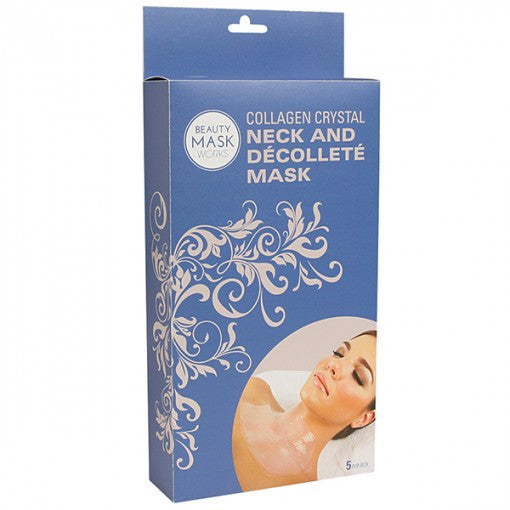 Collagen Crystal Neck and Décolleté Mask 5-pk.