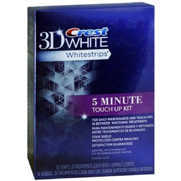Crest 3D White Whitestrips 5 Minute Touch Ups