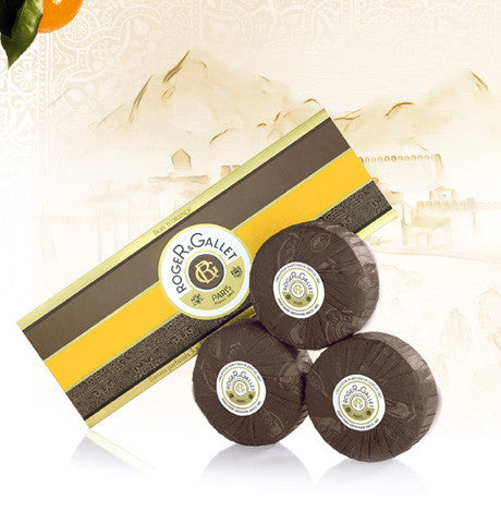 Invigorating Perfumed Soap Coffret of 3 soaps