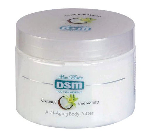 Anti-Aging Body Butter-Coconut and Vanilla-DSM