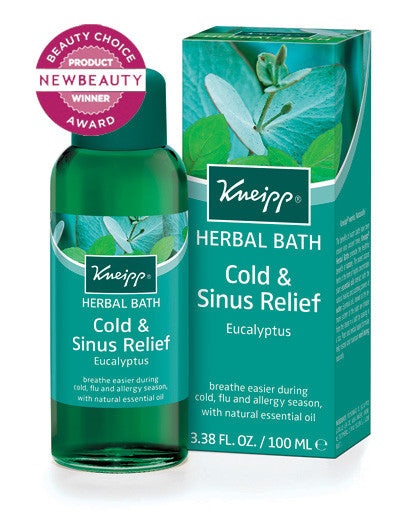 Cold & Sinus Relief Bath: Eucalyptus