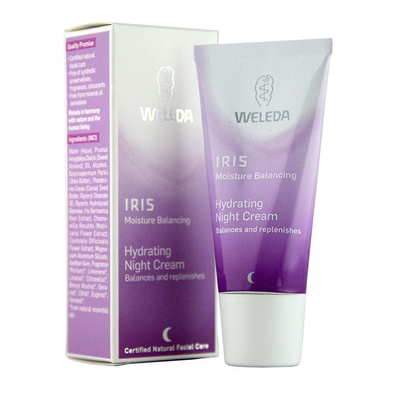 Iris-Hydrating Night Cream-Weleda