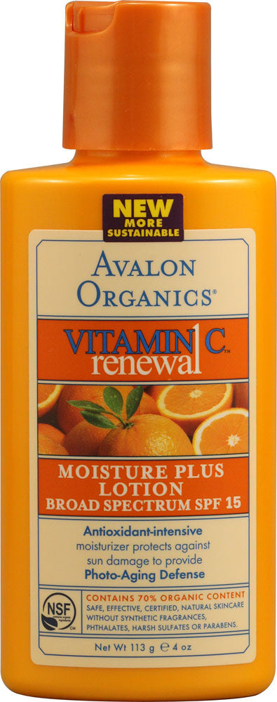 Vitamin C Renewal-Moisture Plus Lotion-Avalon