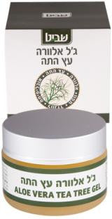 Tea Tree-Aloe Vera Gel-Shavit