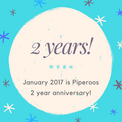 Piperoos Celebrates its 2 Year Anniversary
