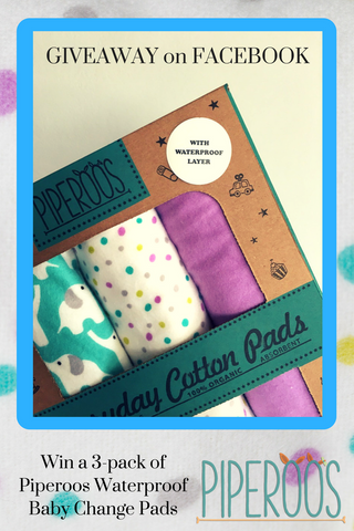 Win a 3-pack of Eco-friendly Baby Change Pads on Facebook. Enter now!