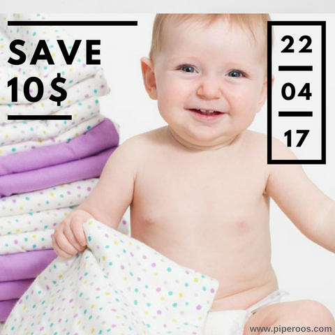 Save 10$ on Earth Day ! Piperoos.com
