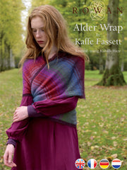 Alder Wrap pattern in Kidsilk Haze