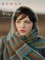 Earth Stripe Scarf in Kidsilk Haze