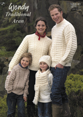 Traditional Aran 5640 -  at Spun Yarn Shop