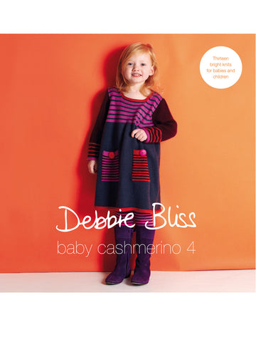 Baby Cashmerino Book 4 -  at Spun Yarn Shop - 1