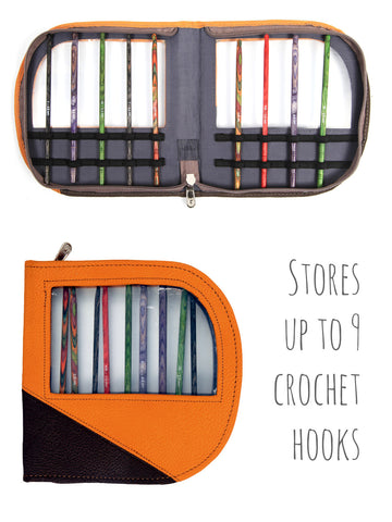 Crochet Hook Case -  at Spun Yarn Shop