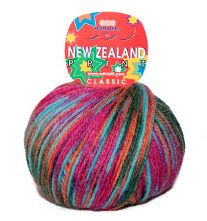 New Zealand Print -  at Spun Yarn Shop