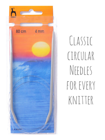 Circular Knitting Needles - 80cm long -  at Spun Yarn Shop - 1
