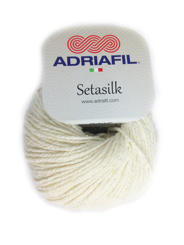 Setasilk - Cream 60 at Spun Yarn Shop - 1