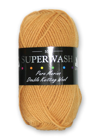 Superwash - Gold at Spun Yarn Shop - 1