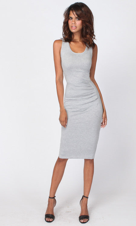NIA FRONT PLEAT DRESS