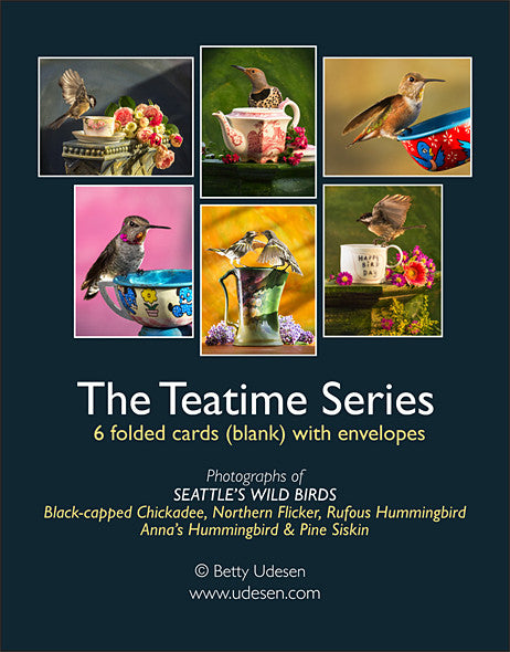 Teatime Series boxed cards