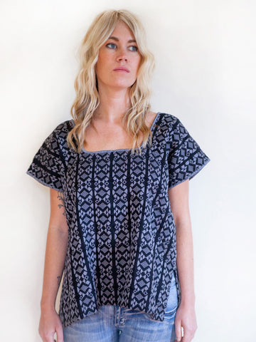 Handwoven Women's Tunic Top