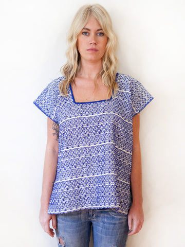 Handwoven Women's Top Mexico