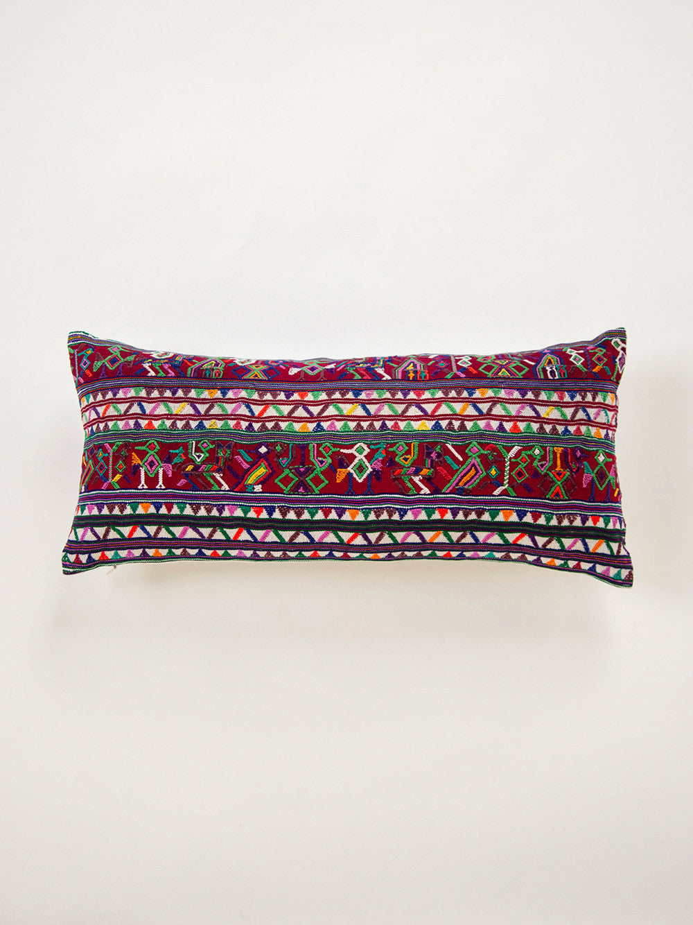Vintage Guatemalan Throw Pillow
