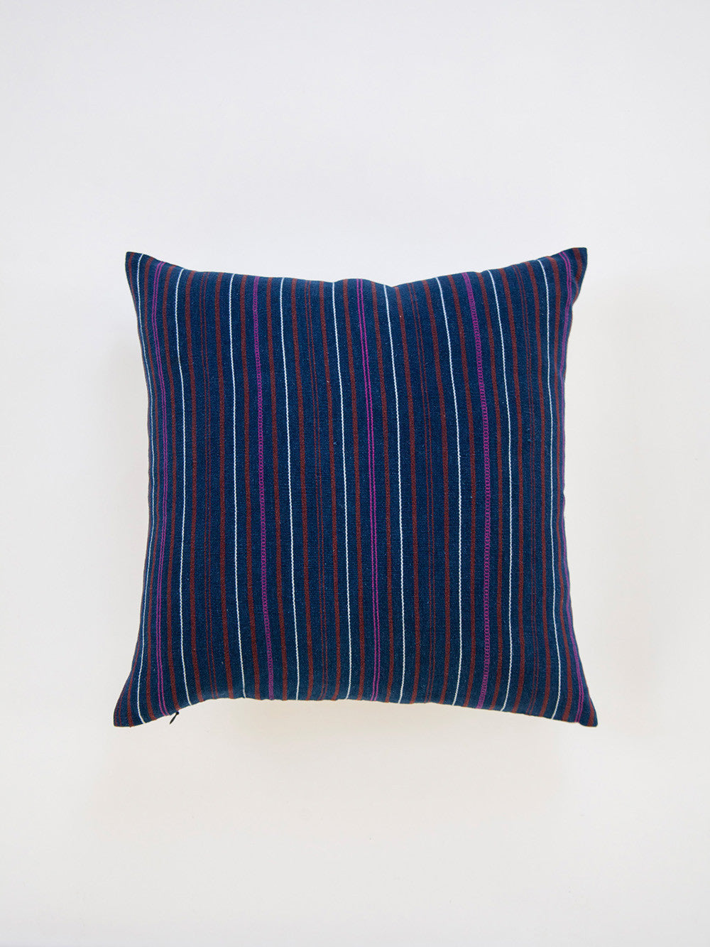 Vintage Indigo Throw Pillow