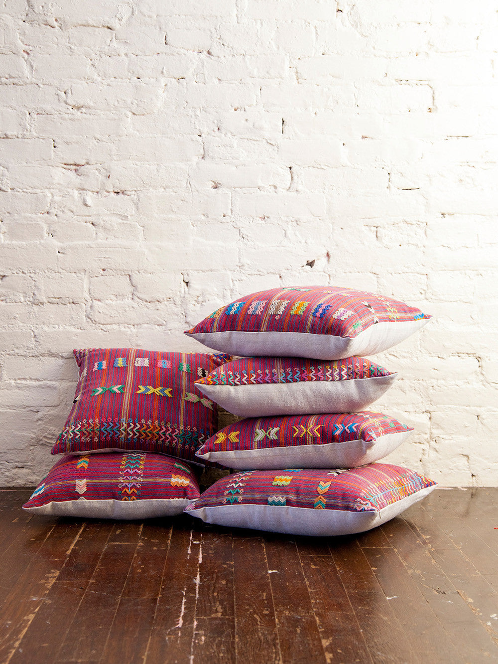 Boho Ethnic Throw Pillows