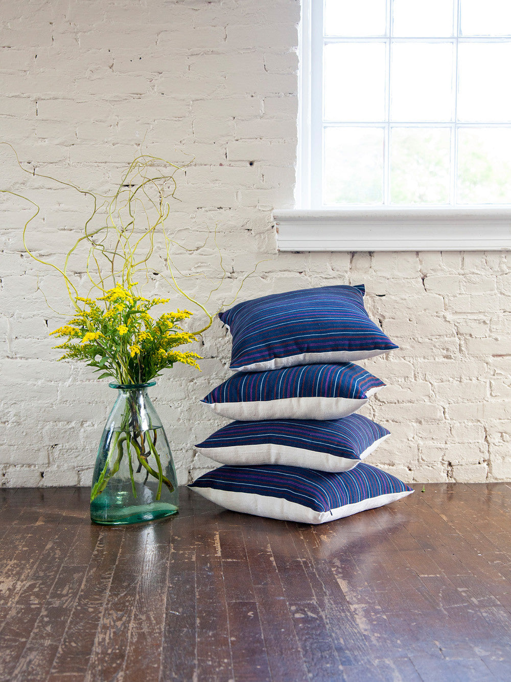 Vintage Stripe Throw Pillows