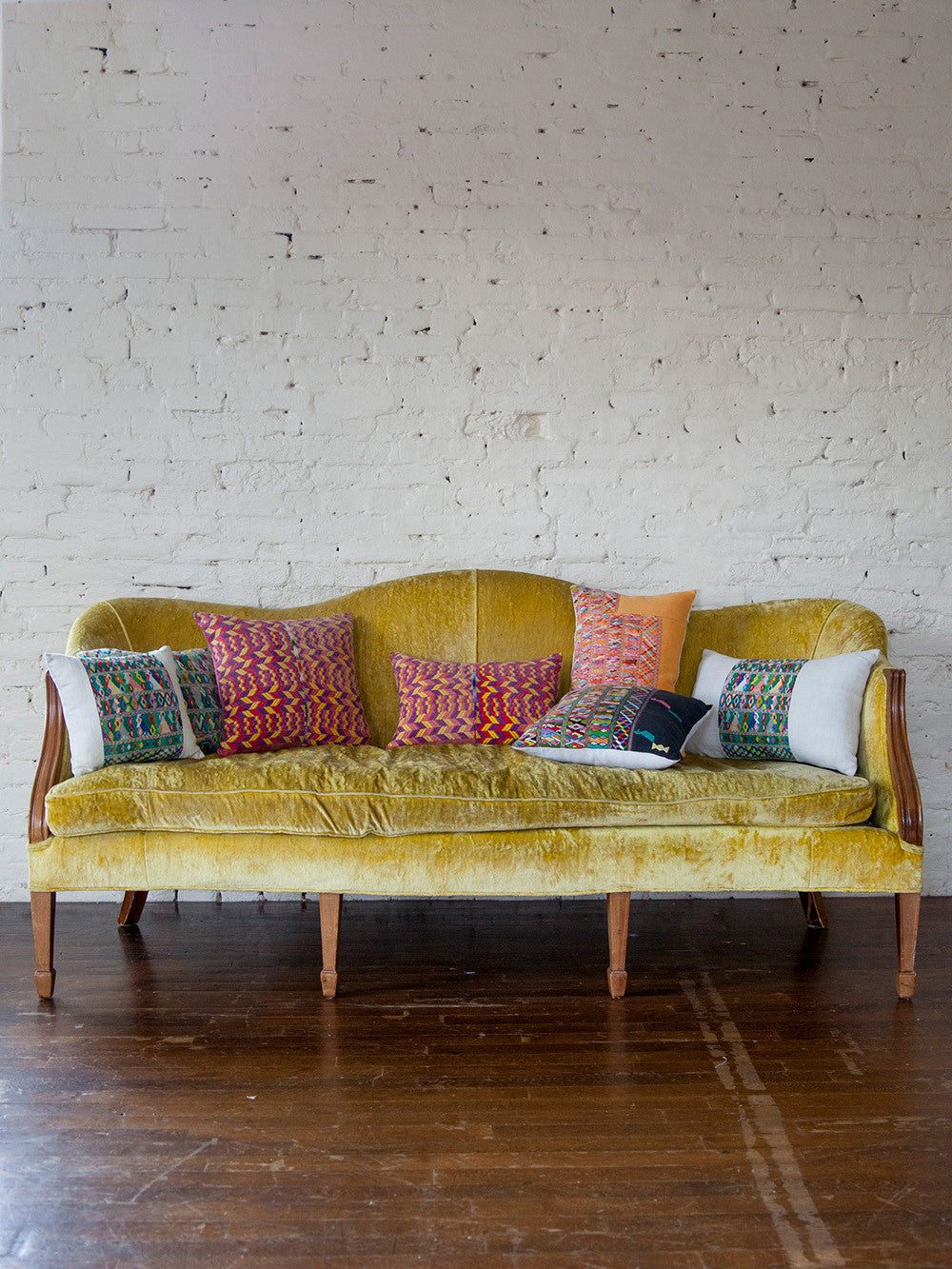 Vintage Woven Throw Pillows