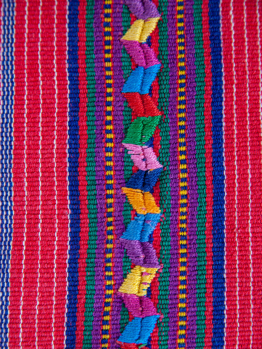 Handwoven Embroidered Guatemalan Textile