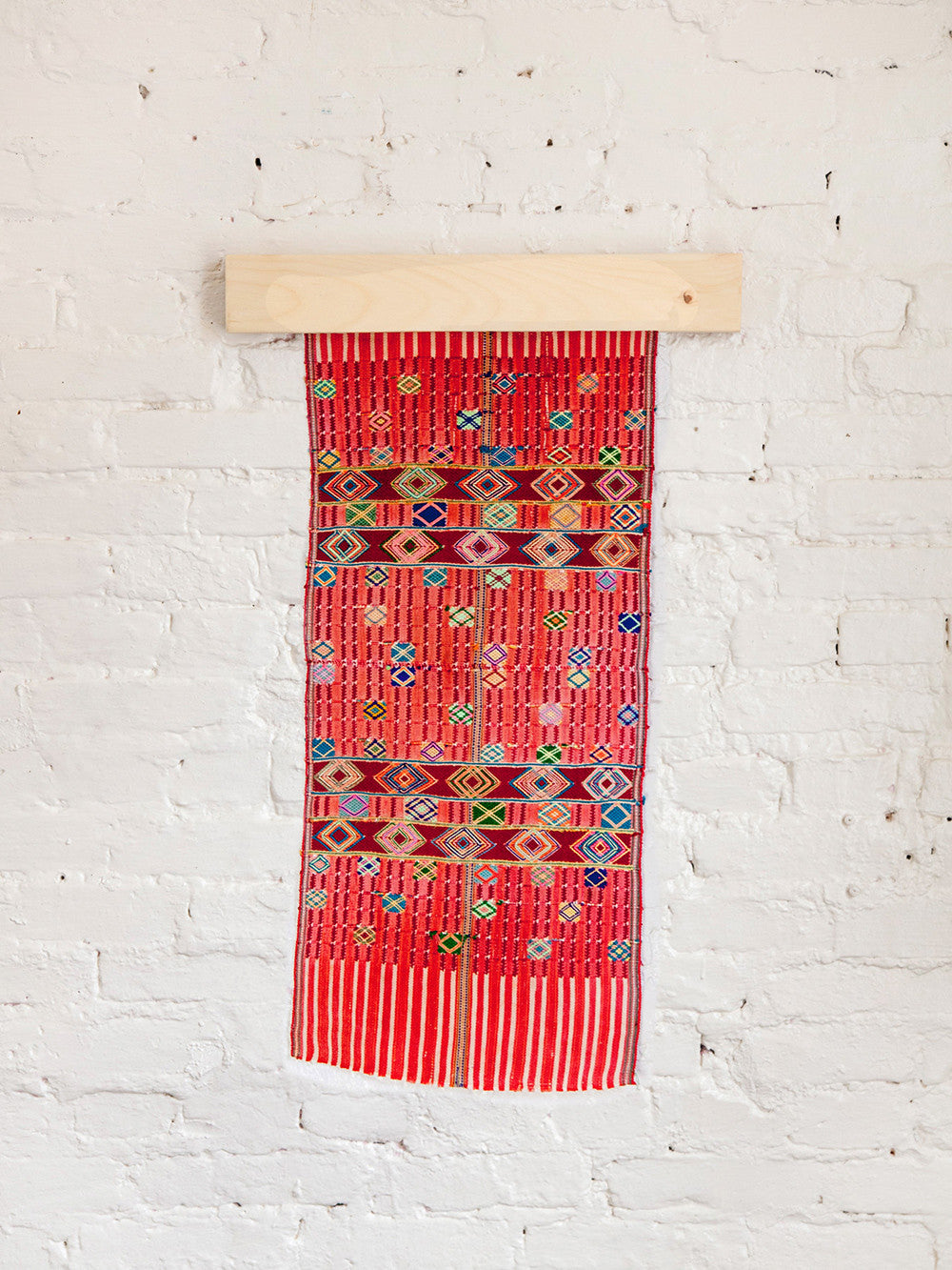 Vintage Guatemalan Woven Wall Tapestry