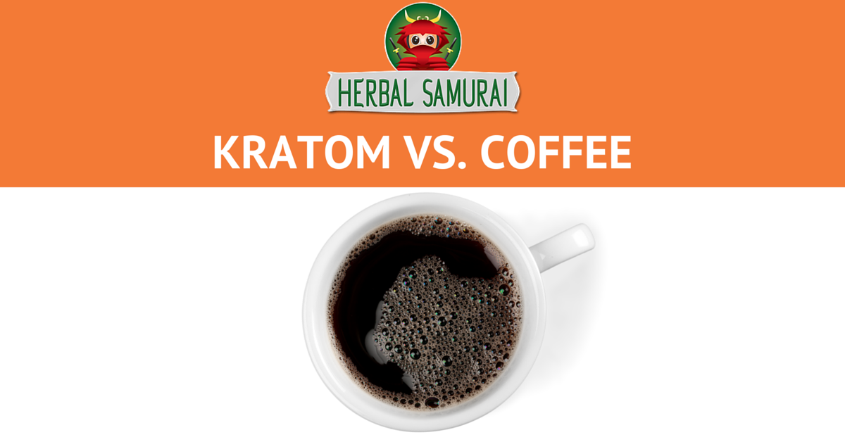 Kratom Vs Coffee