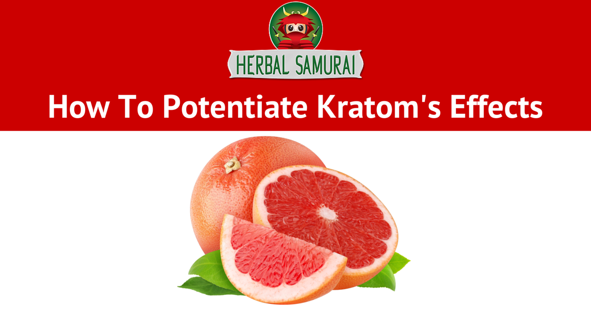 How To Potentiate Kratom's Effects