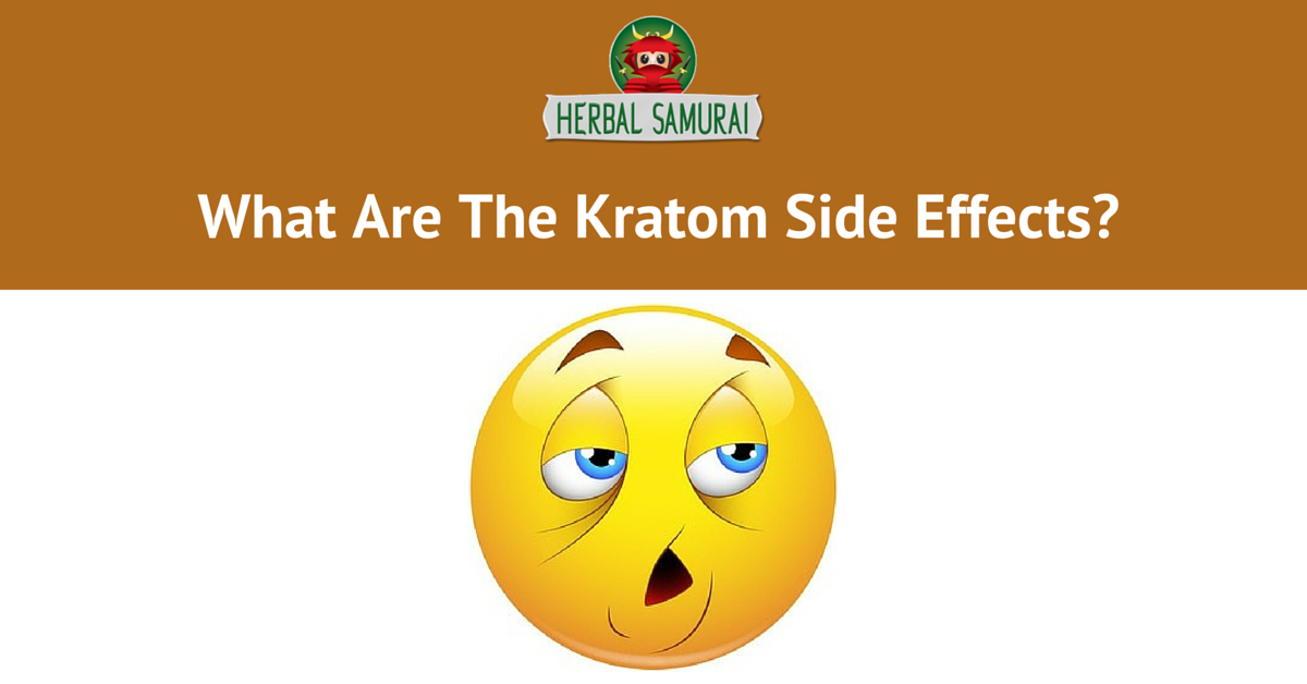 What Are The Kratom Side Effects
