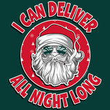 I Can Deliver All Night Long - Christmas T-shirt