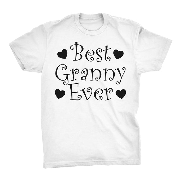 Best GRANNY Ever - Hearts 001 - Mother's Day Grandmother T-shirt