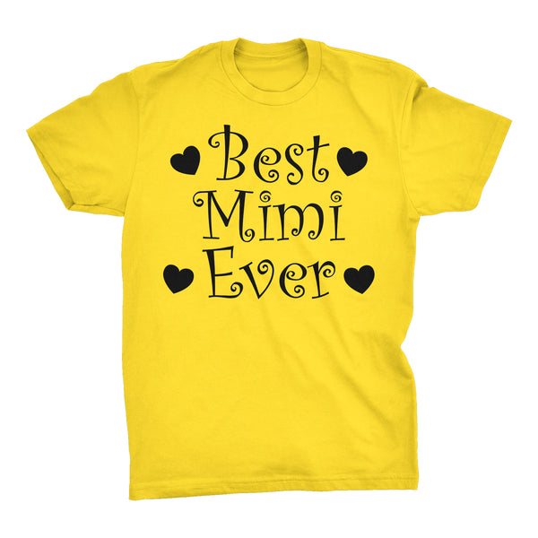Best MIMI Ever - Hearts 001 - Mother's Day Grandmother T-shirt