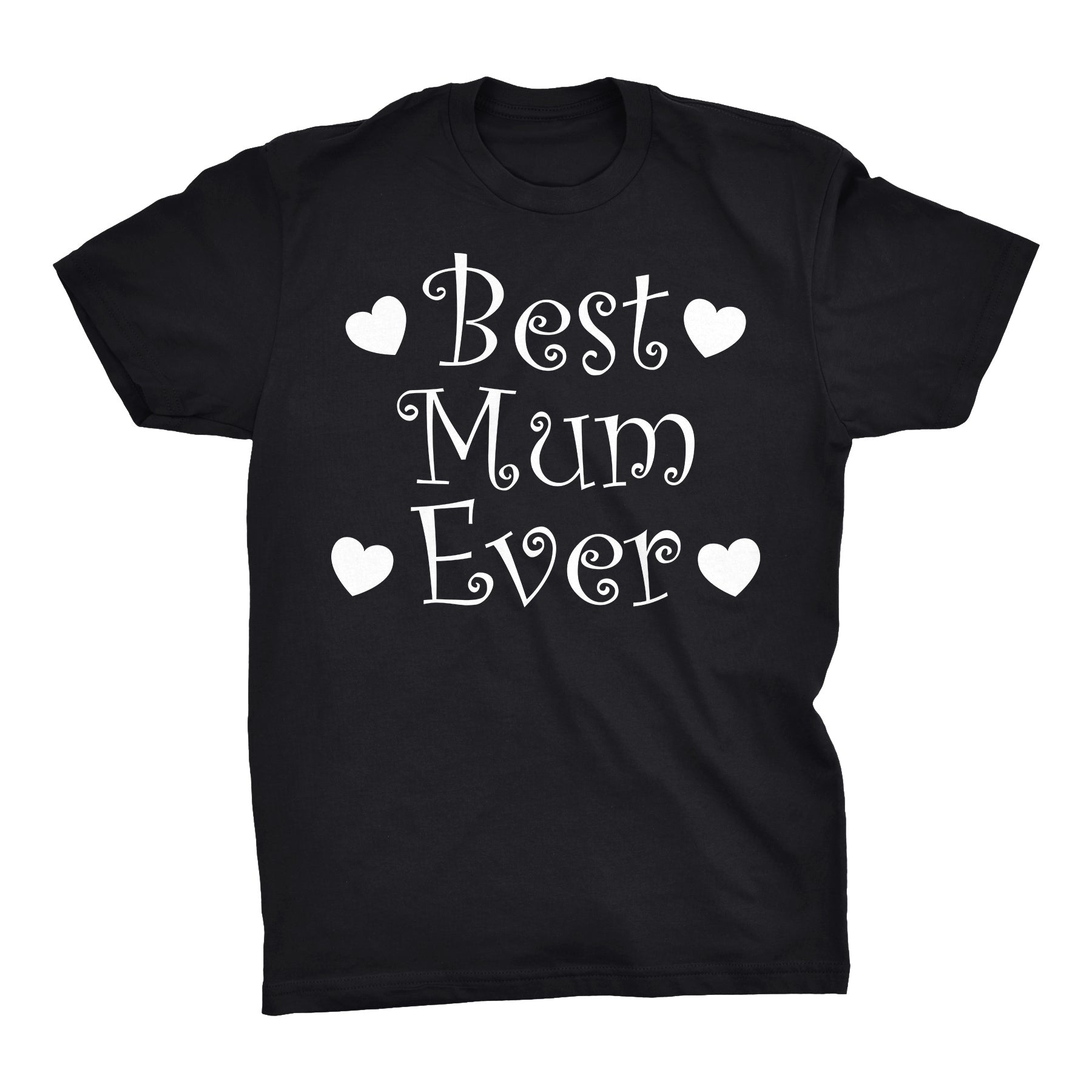 Best MUM Ever - Hearts 001 - Mother's Day Grandmother T-shirt
