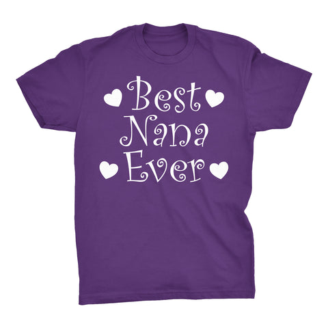 Best NANA Ever - Hearts 001 - Mother's Day Grandmother T-shirt