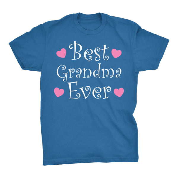 Best GRANDMA Ever - Hearts 002 - Mother's Day Grandmother T-shirt