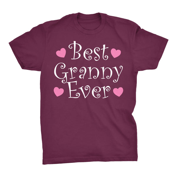Best GRANNY Ever - Hearts 002 - Mother's Day Grandmother T-shirt