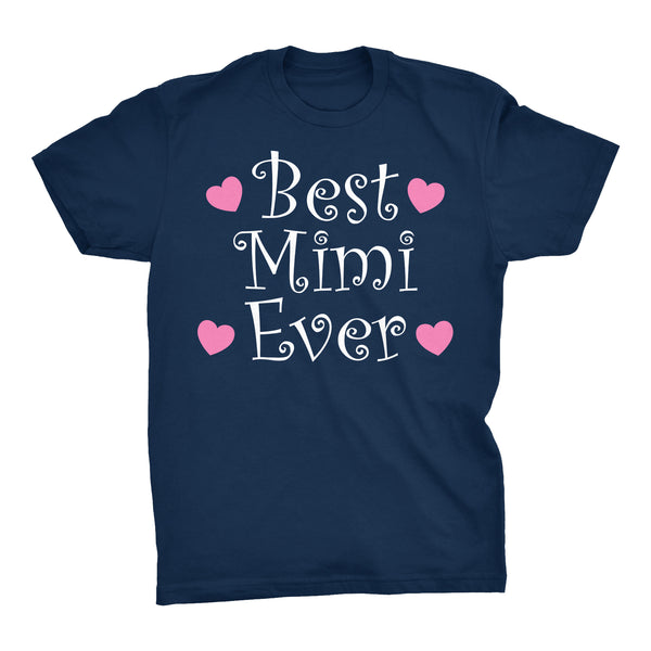 Best MIMI Ever - Hearts 002 - Mother's Day Grandmother T-shirt