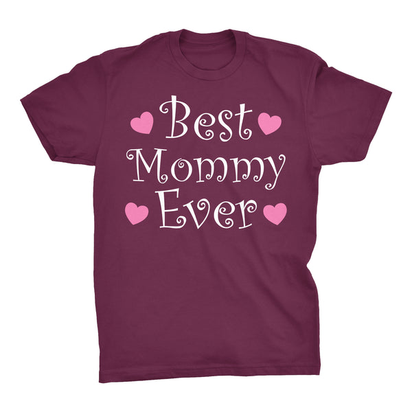 Best MOMMY Ever - Hearts 002 - Mother's Day Mom T-shirt