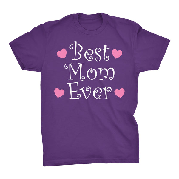 Best MOM Ever - Hearts 002 - Mother's Day Gift Mom T-shirt