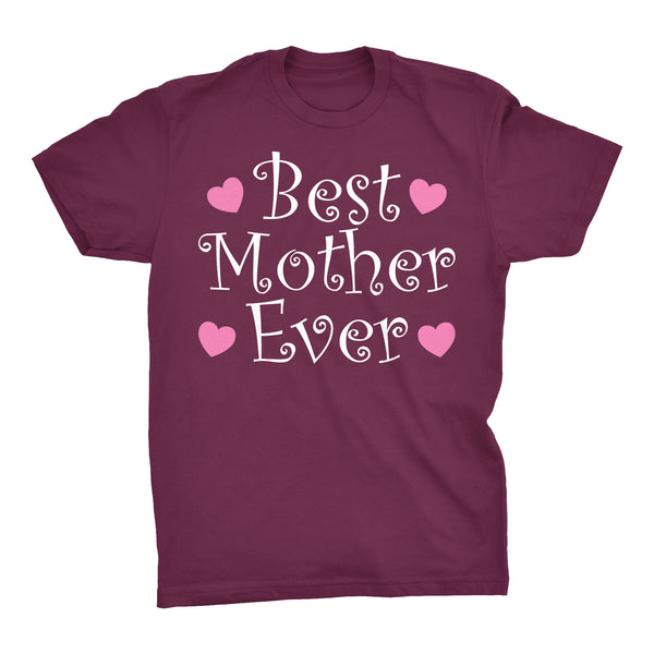 Best MOTHER Ever - Hearts 002 - Mother's Day Mom T-shirt