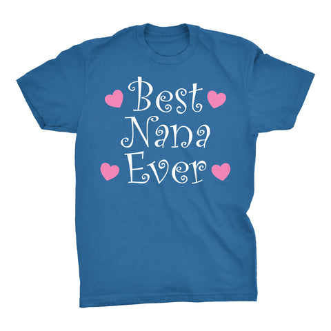Best NANA Ever - Hearts 002 - Mother's Day Grandmother T-shirt