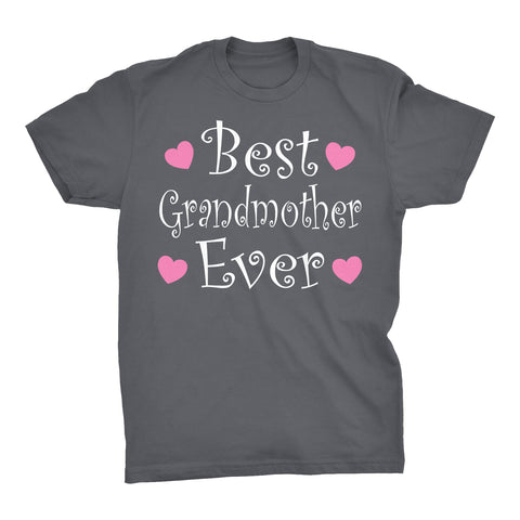 Best GRANDMOTHER Ever - Hearts 002 - Mother's Day Grandma T-shirt