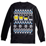 Beer Mug Sweater - Christmas Long Sleeve Shirt
