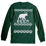 Beer Sweater - Christmas Long Sleeve Shirt